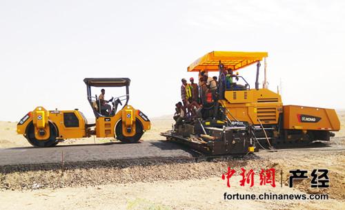 徐工在非洲持续领跑中国工程机械品牌