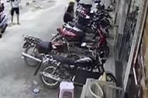 十秒偷一辆摩托车 猖狂盗窃团伙被打掉