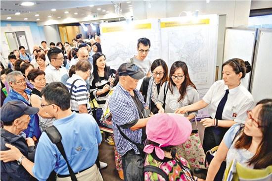 """香港新居屋最贵""""楼王""""售价326万港币半小时售出"""