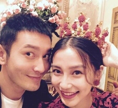 黄晓明承认年内与Angelababy完婚疑似婚期将近