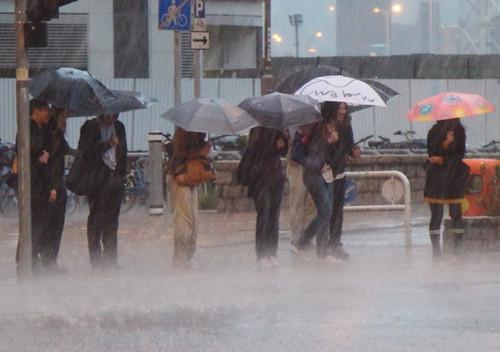 香港天文台取消所有暴雨警告信号