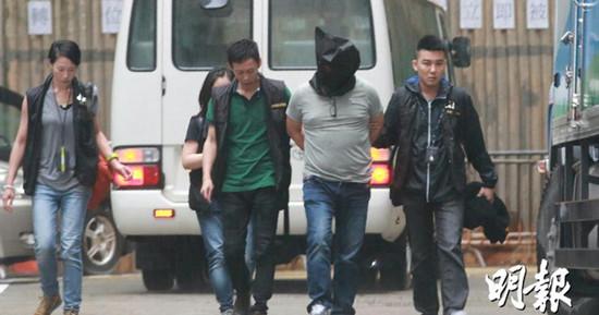 """香港警方""""无间道""""派卧底渗入黑帮拘捕37人"""