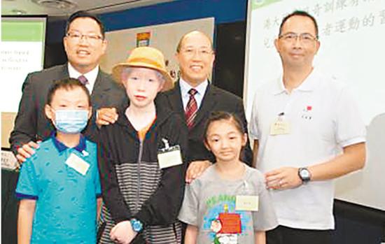 """港大研究:""""历奇""""有助患癌儿童恢复身体机能"""