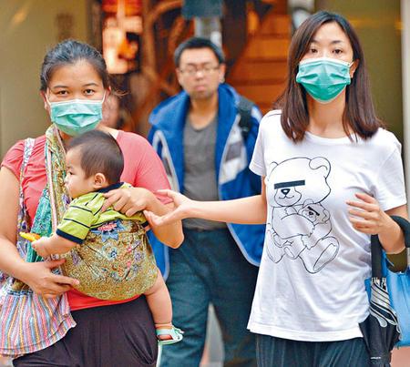 香港提升警戒级别应对MERS民众到医院必须戴口罩