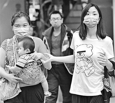 香港全城封堵MERS入境者检疫升级进医院须戴口罩