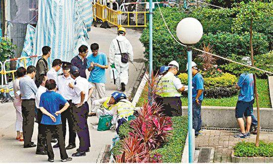 香港今年首宗本地登革热患者住所职场附近灭蚊