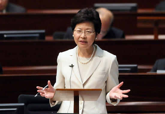 政改落幕香港下一站:促经济保民生