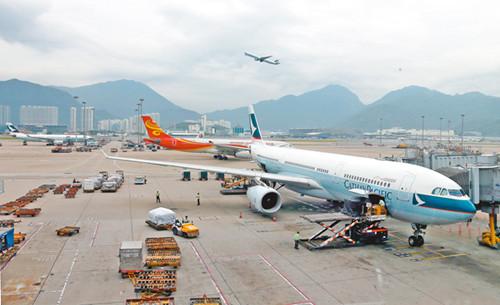 香港机场客运量列全球十大货运量起降量同创新高