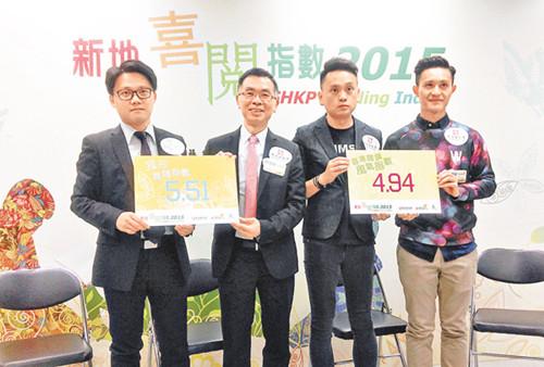 调查显示:香港阅读风气指数上升创近4年最高水平