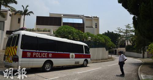 香港一独立屋被盗近千万财物警方拘捕两疑犯(图)
