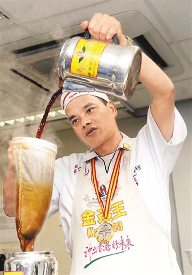 港味代表:丝袜奶茶诞生100周年