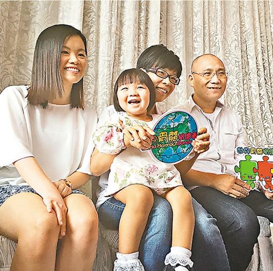 """香港一少女捐骨髓救女婴两人成""""母女""""(图)"""
