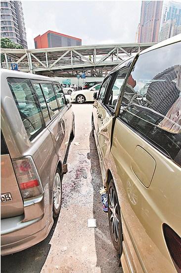 香港男子疑与家人争楼反目跳楼压车身亡(图)