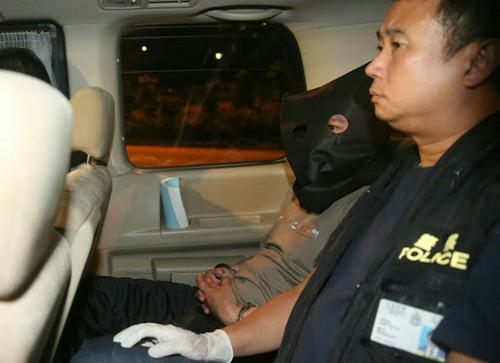香港割喉谋杀案疑犯落网浑身酒气轻铁站被捕(图)