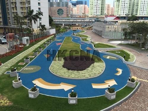 图:香港牛头角公园落成启用