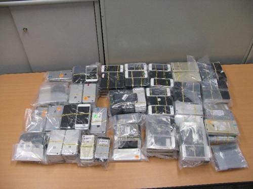 香港海关侦破一宗涉嫌走私智能电话案拘捕1人