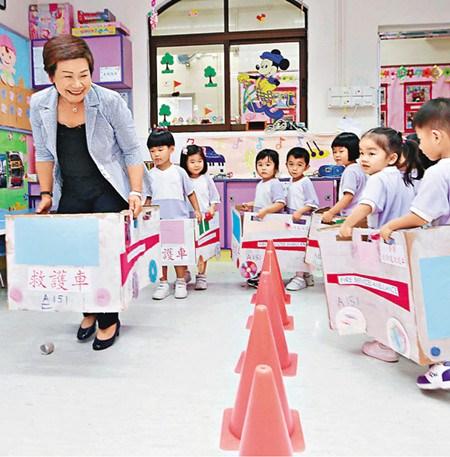 港府施政报告关注幼教七成幼园生有望全免学费