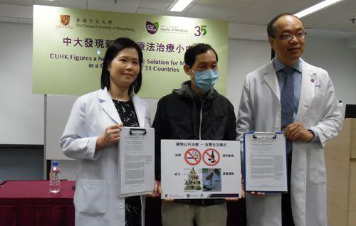 香港中文大学研究发现新药可降低中风风险达13%
