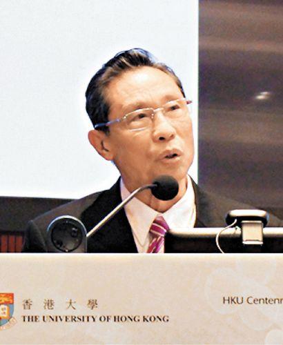 钟南山谈禽流感:香港应实行活鸡中央屠宰(图)