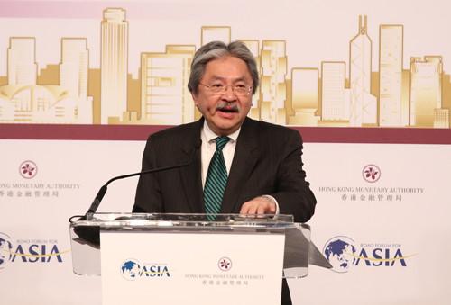 香港官员:经济发展转向亚洲香港会从中受惠