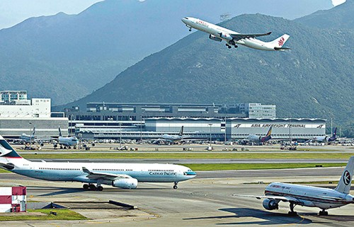 香港旅游业疲弱访港旅客人次持续下跌(图)