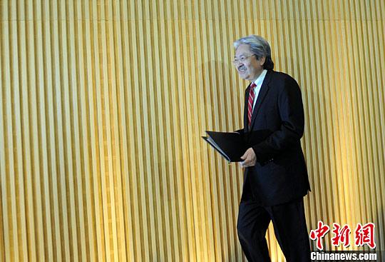 香港特区政府财政司司长曾俊华请辞