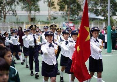 香港学校多种形式弘扬爱国正气 认知情怀大声讲出