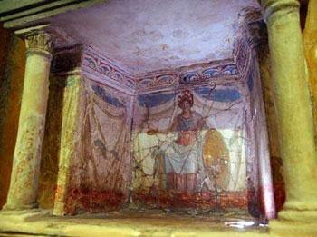 另外也有不少以打猎和动物作为题材,反映了古罗马人的风俗和信仰.
