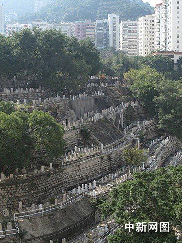 香港跑马地的回教坟场. 余瑞冬 摄-香江漫话 跑马地墓园游踪 阅碑忆