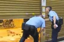三蒙面贼打劫香港一珠宝店