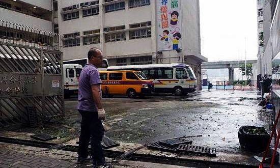 香港教育局将为公立学校、直资校提供风灾维修津贴