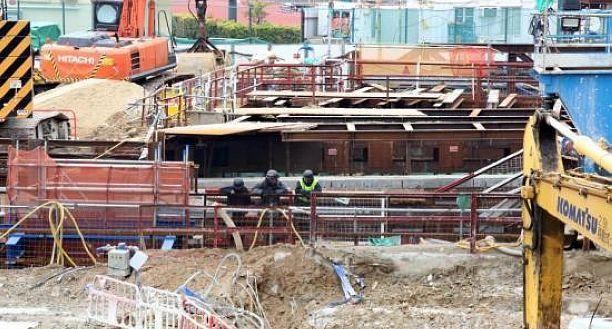 港铁向港府提交报告 建议凿开红� 站部分混凝土勘察