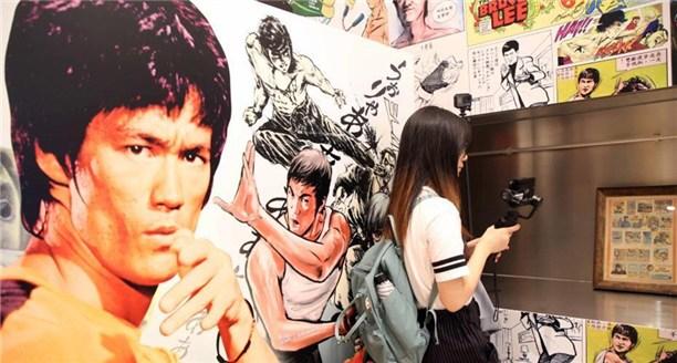 李小龙逝世45周年 香港举办漫画游戏展纪念