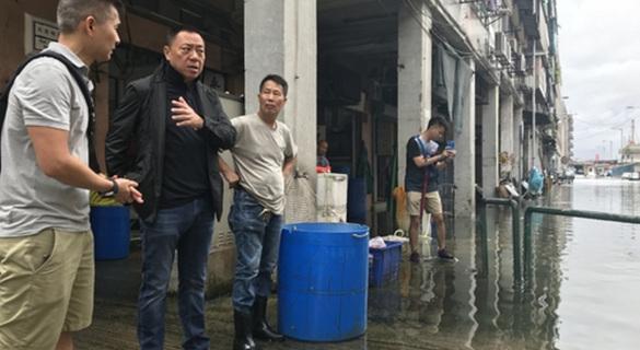 澳门内港连日大雨致海水倒灌 特区政府紧急应对水患