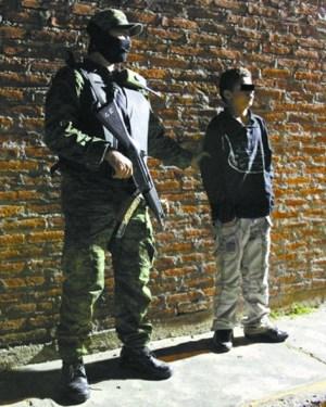 墨西哥少年杀手11岁开始杀人亲手肢解4人(图)