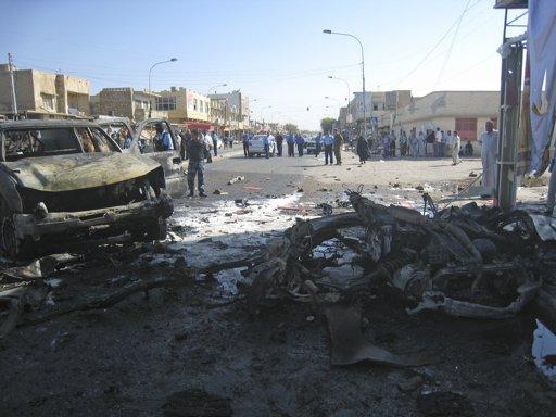 伊拉克遇炸弹袭击潮230余人死伤安全形势严峻