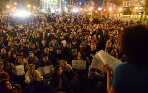 美华尔街抗议活动席卷全国 多城市爆发游行(图) - 缘分 -   缘分博客
