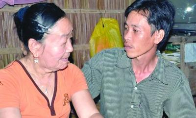 乱吃药引皮肤怪病 越南26岁美女变70岁老太(图)