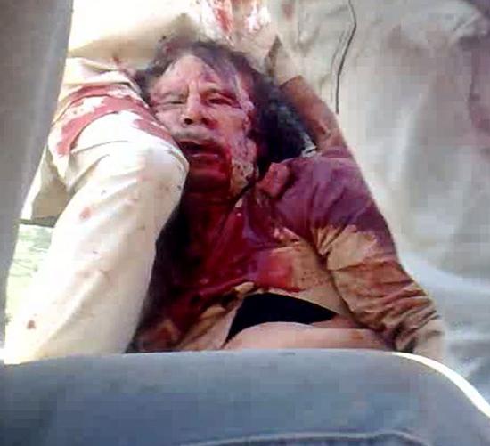 利比亚当局称卡扎菲已死将宣布全国解放组图