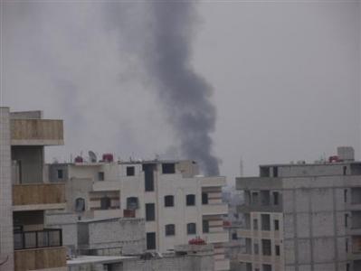 叙利亚政府军围攻大马士革郊区欲夺回控制权(图)