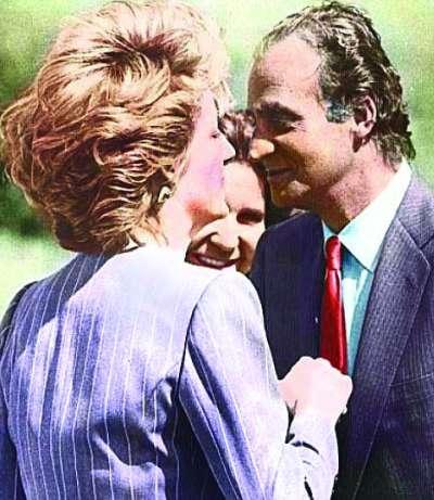 西班牙国王曾喜欢过戴安娜王妃,你信吗?