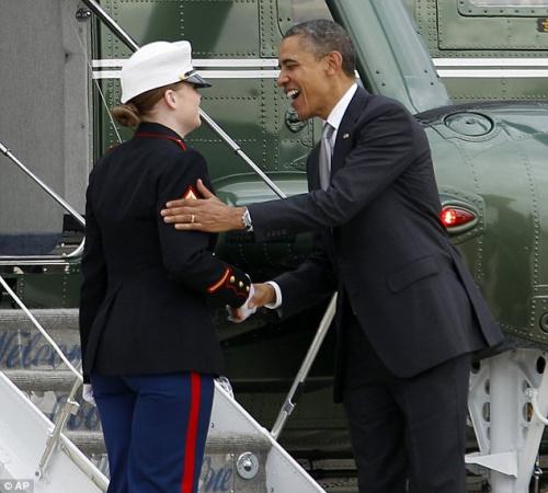奥巴马的绅士风度 - 爱喝咖啡 - 春天在哪里