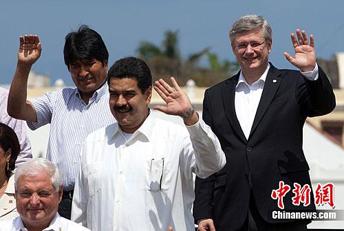 加拿大�理提出中美洲安全新倡�h
