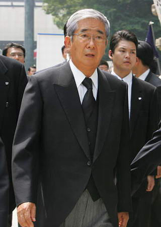 日本 石原慎太郎/资料图片:日本右翼政客石原慎太郎
