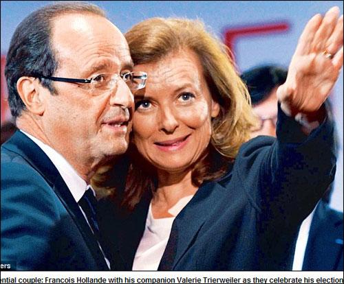 法国新总统女友因被与美第一夫人相提并论惊讶