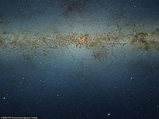 最大银河系图像现世包含8400万颗恒星(图)