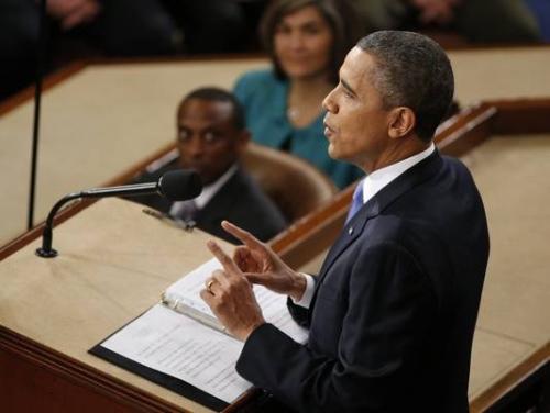 奥巴马国情咨文演讲显强硬姿态可能制造新僵局