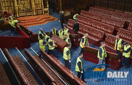 """""""遊說門""""醜聞打擊英國議會上議院三議員被撂倒"""
