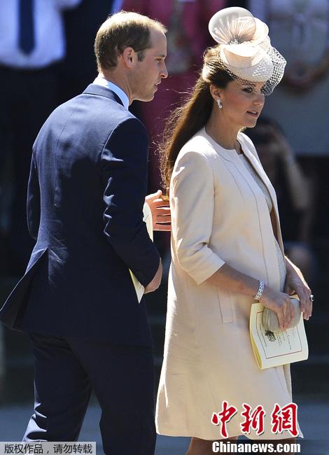英国凯特王妃医院内顺利生产母子平安(图)