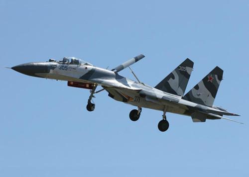 俄罗斯空军今年将接装苏-30和苏-35战机(组图)